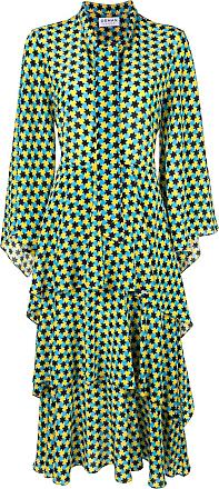 Osman Vestido estampado - Azul