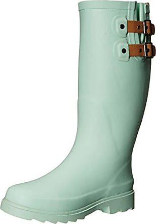 2df6097f6fcc Chooka Womens Top Solid Rain Boot, Mint, 7 M US