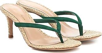 Gianvito Rossi Exclusive to Mytheresa - Calypso 70 raffia thong sandals