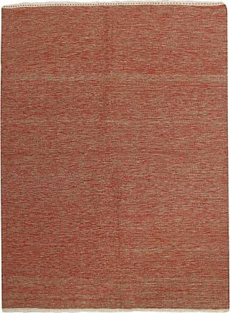 Nain Trading 200x149 Hand Woven Kilim Fars Brown/Pink (Wool, Iran/Persia)