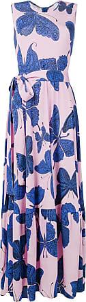 Ultra Chic butterfly print dress - Pink