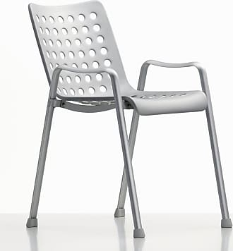Vitra Landi Chair Matte Anodised Aluminium