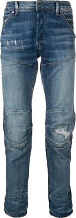 G-Star Raw Research Calça jeans reta - Azul