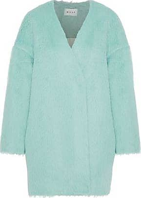 Milly Milly Woman Helen Alpaca And Wool-blend Coat Mint Size XS