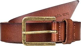 Quiksilver Slimkowski - Leather Belt - Men - L-36 - Brown