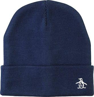 Original Penguin Prez Mens Beanie Hat (Navy) One Size