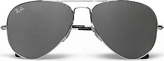 Ray-Ban Aviator Silver-tone Sunglasses - Silver
