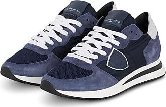 Philippe Model Plateau-Sneaker TRPX TROPEZ - DUNKELBLAU/ SILBER