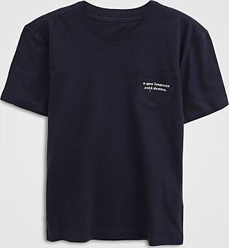 Reserva Mini Camiseta Reserva Mini Infantil Bolso Azul-Marinho