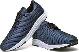 Juilli Tênis Com Cadarço Masculino JUILLI R1108DB Tamanho:38;cor:Azul;gênero:Masculino