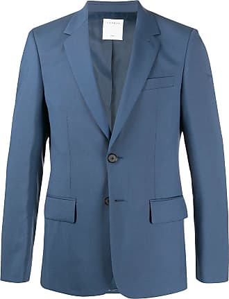 Sandro fitted single-breasted blazer - Blue