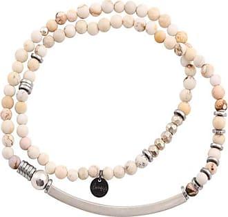 Bracelet perle double homme