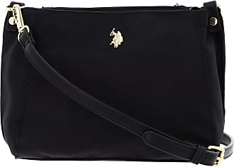 U.S.Polo Association U.S. POLO ASSN. Houston Crossbody with Two Zip Black