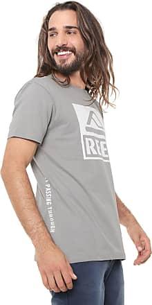 Reef Camiseta Reef Básica Co Cinza