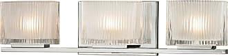 Elk Lighting Chiseled Glass 3 Light Bathroom Vanity Light - 11632/3