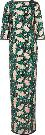Rachel Zoe Lina Open-back Chiffon-trimmed Sequined Printed Crepe Gown - Blush