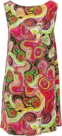 Loud Elephant Shift Shaper Dress - Paint Swirls (Medium)