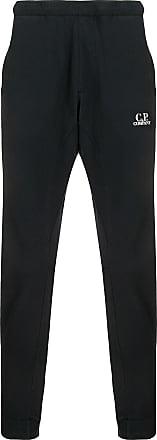 C.P. Company Calça esportiva com estampa de logo - Azul