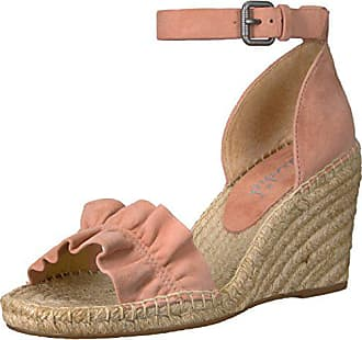 Splendid Womens Bedford Wedge Sandal, Dark Blush, 6.5 Medium US