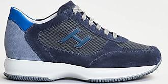 Hogan interactive retro grigio bluette - blu