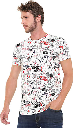 Jack & Jones Camiseta Jack & Jones Estampada Off-white