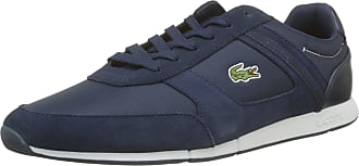 Lacoste Mens Menerva Sport 318 1 Cam Trainers, Blue (NVY/Dk Blu Nd1), 7.5 UK