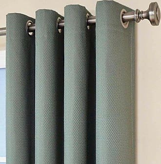 Eclipse 12972052084RVB Dane 52-Inch by 84-Inch Grommet Blackout Single Window Curtain Panel, River Blue