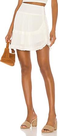 BB Dakota JACK by BB Dakota Crinkle In Time Skirt in White