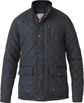 Duke London Duke D555 Big Tall King Size Pollard Quilted Jacket Black - 2XL