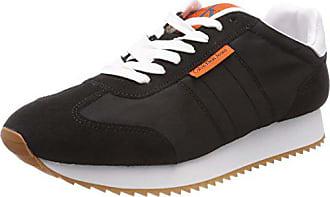 EU Graph Noir Homme 46 Basses Blk Calvin Nylon Sneakers Klein 000 Jeans Suede EEwUR7q
