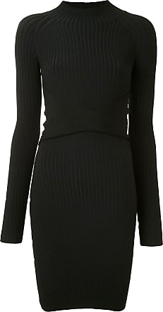 Dion Lee twist-style cutout mini dress - Black