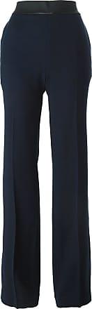 Haider Ackermann wide leg trousers - Blue