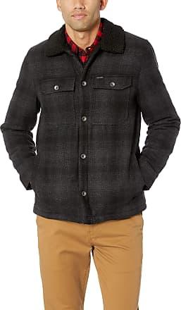 Volcom Mens Keaton Mid Length Jacket Down Alternative Coat, Grey, Small