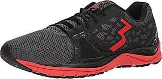 361° Mens 361-POISION Running Shoe, Castlerock/Risk red, 10.5 M US