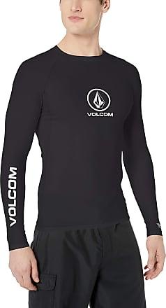 Volcom Mens Mens Lido Solid Short Sleeve Rashguard Rash Guard Shirt