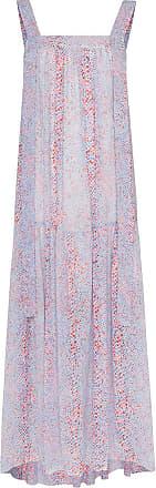 See By Chloé Vestido longo com estampa - Azul