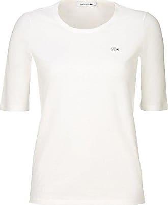 Lacoste TF5621 Damen T-Shirt Rundhals,Frauen Basic Tshirt,Tee,Freizeit und b45e59c90f
