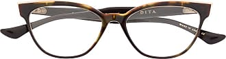Dita Eyewear Ficta prescription glasses - Brown