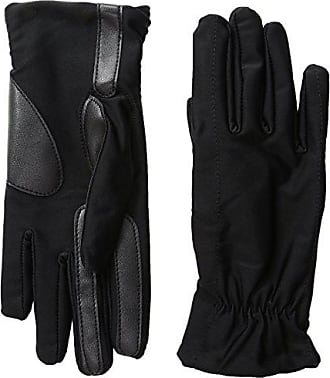Isotoner Womens Spandex smarTouch Gloves, Black, Small/Medium
