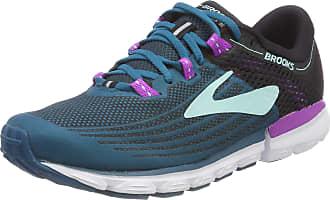 Brooks Womens Neuro 3 Running Shoes, Multicolour (Lagoon/Black/Purple 329), 4.5 UK
