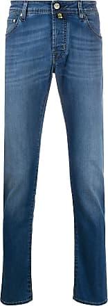 Jacob Cohen Jeans mit Stone-Wash-Effekt - Blau