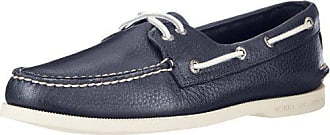 Sperry Top-Sider Sperry Mens Authentic Original 2-Eye Boat Shoe, New Navy, 11.5 M US