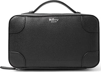 Mulberry Belgrave Pebble-grain Leather Wash Bag - Black