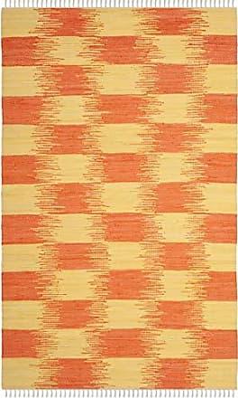 Safavieh Montauk Collection MTK721C Yellow and Orange Area Rug (5 x 8)