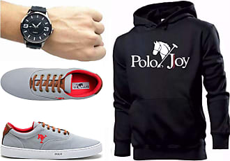 Polo Joy Kit Tênis Masculino Polo Joy C/Moletom e Relógio (42)