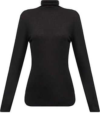 Ann Demeulemeester Roll-neck Split-hem Sweater - Womens - Black