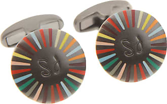 Paul Smith Cufflinks for Men On Sale in Outlet, Dark Ruthenium, Stainless Steel, 2017, One Size