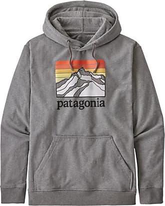 Patagonia Line Logo Ridge Uprisal Hoody Hoodie für Herren | grau