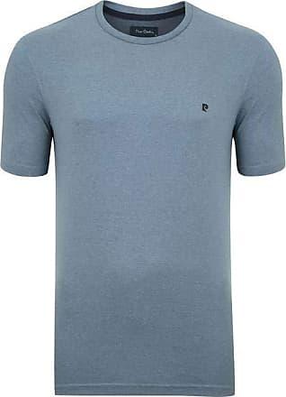 Pierre Cardin Camiseta Moline Mescla Azul Jeans M