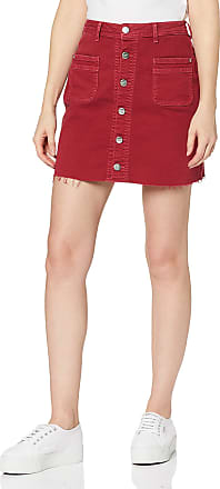 Pepe Jeans London Womens Vicky Skirt, Red (Pillarbox Red 266), Large